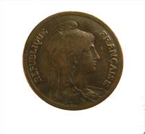 France - 10 Centimes - Dupuis - 1916 - Torche  - Bronze - TB+ - France