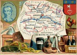 Chomo - Carte De Département - Maine Et Loire - Géographie