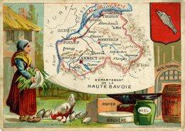 Chomo - Carte De Département - Haute Savoie - Géographie