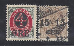 DANEMARK - 1904 - N° 41 Et 42 - X - O - TB - - Nuovi