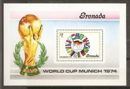 FÚTBOL - GRENADA 1974 - Yvert #H32 - MNH ** - Copa Mundial