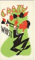 1920´s Crazy Whist Game Score Card Trumpet Jazz Player Replica - Gesellschaftsspiele