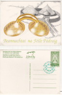 1996 EIRE IRLANDA IRELAND ST PATRICK'S Day GREETINGS POSTCARD FU - Postwaardestukken