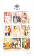 Thailand 1999 King 72nd Birthday S/S MNH - Thaïlande