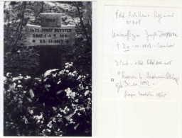 1 Plaque De Verre Picardie 1914-1918  / RAEREN Jozef Duyster - Diapositiva Su Vetro