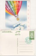 1996 EIRE IRLANDA IRELAND ST PATRICK´S Day GREETINGS POSTCARD FD - Interi Postali