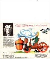 - BUVARD - CUGNOT - Voiture à Vapeur - 522 - Automobile