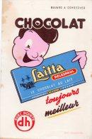 - BUVARD - Chocolat LAITTA  Delespaul - 524 - Chocolat