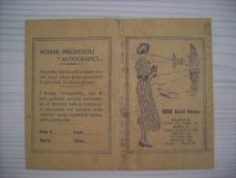 Portafoto KODAK Società Anonima - Milano, Roma, Napoli, Venezia. Anni´30 - Vecchi Documenti