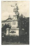 CARTOLINA - CASERTA - MONUMENTO A LUIGI VANVITELLI   - VIAGGIATA NEL 1900 - Caserta