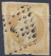 10 C. Bistre Oblitéré - 1853-1860 Napoléon III