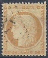 10 C. Bistre-jaune Oblitéré - 1870 Siege Of Paris