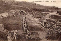[DC8886] CARTHAGE - LE THEATRE - LA SCENE - Viaggiata - Old Postcard - Tunisia