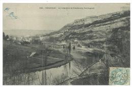 CARTOLINA - BESANCON - LA CITADELLE AT FAUBOURG TARRAGNOZ  - VIAGGIATA NEL 1900 - France