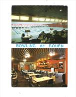 76 - ROUEN - Bowling - 16 Pistes De Compétition - 1989 - Pancarte 30-31 Octobre 1971 Finale COUPE DU MONDE - Bowling