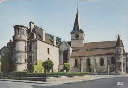 ¤¤   1513 - CHATILLON-sur-SEINE -  L'église Et La Tour Du Musée    ¤¤ - Chatillon Sur Seine