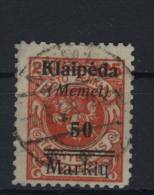 Memelgebiet Michel No. 131 gestempelt used