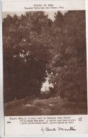 77 - Moret Sur Loing - Tableau D´Albert Moullé - Le Vieux Pont De Ravanne - Carte Dédicacée Par Le Peintre - Moret Sur Loing