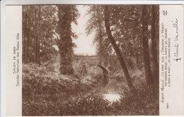 77 - Moret Sur Loing - Tableau D´Albert Moullé - Le Pont Sur L'Orvanne - Carte Dédicacée Par Le Peintre - Moret Sur Loing