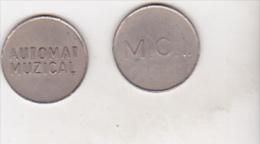 Romania - Old Token - M.C.I.- Automat Muzical - Unclassified