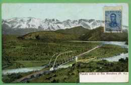 ARGENTINE - Puente Sobre El Rio Mendoza - Argentina