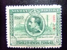 CABO JUBY Año 1929 EXPOSICION UNIVERSAL EN SEVILLA Y BARCELONA Edifil Nº 41 ** MNH - Cabo Juby