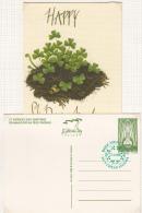 1996 IRLANDA IRELAND EIRE ST PATRICK´S DAY GREETINGS POSTCARD FD - Interi Postali