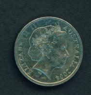 AUSTRALIA - 2004 10c Circ. - 10 Cents