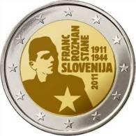 ** 2 EUROS COMMEMO SLOVENIE 2011 PIECE NEUVE ** - Eslovenia