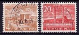 BERLIN Mi. Nr. 112-113 O (ALB-2-16) - [5] Berlín