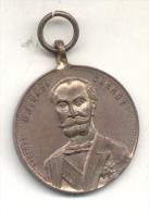 M. I. SADI CARNOT - LUDOVIC - PRESIDENT DE LA REPUBLIQUE FRANCAISE MEDAILLE 1897 - Firma's