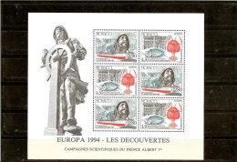 MONACO  BLOC N° 65    NEUF **  1994 - Blocs