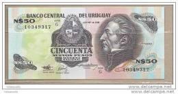 Uruguay - Banconota Non Circolata Da 50 Nuovi Pesos - Uruguay