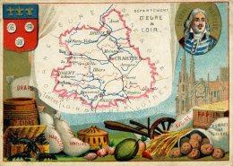 Chomo - Carte De Département - Eure Et Loir - Géographie