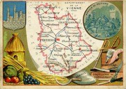 Chomo - Carte De Département - Vienne - Géographie