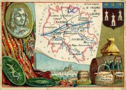 Chomo - Carte De Département - Indre Et Loire - Géographie