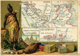 Chomo - Carte De Département - Tunisie, Sous Le Protectorat Français - Géographie
