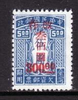Taiwan  J 8   * - 1888 Chinese Province