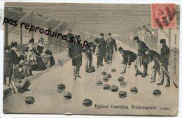 - Typical Canadien Wintersports - Curling - Très Rare, écrite, En Famille, Splendide, Datée Avril 1906, Bon état, Scans. - Montreal