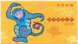 Taiwan 2003 Chinese New Year Zodiac Stamps Booklet - Monkey Peach Fruit 2004 - Cuadernillos/libretas