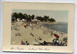 Saint NAZAIRE--1959--Plage De Villès Martin (animée), Cpsm 10 X 15 N° 169  éd CAP--carte Pas Très Courante - Saint Nazaire