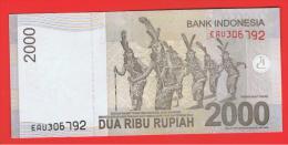 INDONESIA -  2000 Rupias 2009 SC  P-147 - Indonesia