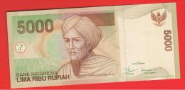 INDONESIA -  5000 Rupias 2001 (01) SC  P-142 - Indonesia