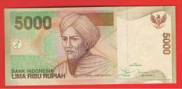 INDONESIA -  5000 Rupias 2001 (07) SC  P-142 - Indonesia