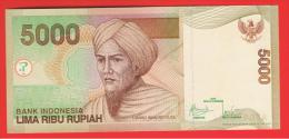 INDONESIA -  5000 Rupias 2009 (01) SC  P-142 - Indonesia