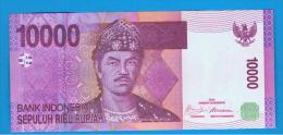 INDONESIA -  10.000 Rupias 2009  SC  P-143 - Indonesia