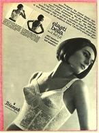 Reklame Werbeanzeige  -  Triumph Unterwäsche  Elasti Bella  -  Von 1965 - Lingerie
