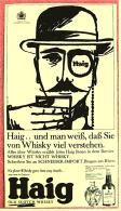 Reklame Werbeanzeige  -  Haig  Old Scotch Whisky  -  Und Man Weiß, Daß Sie Von Whisky Viel Verstehen - Von 1965 - Alkohol