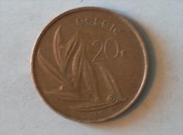 Belgique 20 Francs Belgie 1980 - 07. 20 Francs