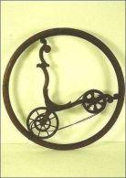 CPM Véhicule Ancien, Monocycle De Brescia / Vélo En Bois / Musée Art Et Industrie Saint Etienne (42) - Cartes Postales